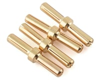 Maclan 4mm Gold Serial Bullet Connectors (4)
