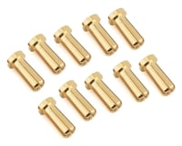 Maclan Max Current 5mm Low Profile Gold Bullet Connectors (10)