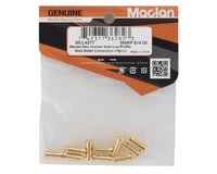 Image 2 for Maclan Max Current 5mm Low Profile Gold Bullet Connectors (10)