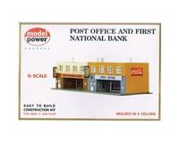 Model Power Post Office & 1st National Bank Kit N