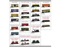 Model Power HO Freight Car Assortment (24)