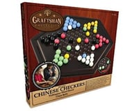 Merchant Ambassadors Merchant Ambassador GF024 Deluxe Chinese Checkers- Natural Wood Veneer