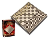Merchant Ambassadors Classic Games Wood Chess & Ch