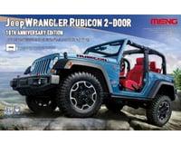 Meng Models 1/24 Jeep Wrangler Rubicon 2-Door 10Th Anniversary