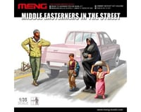 Meng Models 1/35 Middle Eastern Citizensfig Set 4Pc
