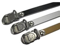 Mks Leather Toe Straps 420mm Long Black