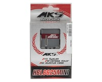 Image 3 for MKS Servos HBL6625 Mini Titanium Gear Glider Wing Servo w/Aluminum Case (High Voltage)
