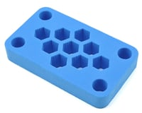 "Maxline R/C Products 6x3.5x1"" Foam Car Stand (Blue) 