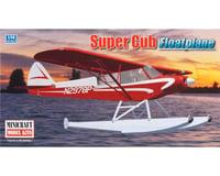Minicraft Models 11663 1/48 Piper Super Cub w/Floats Bush Plane
