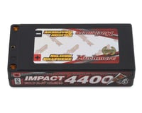 Muchmore Impact 2S LCG Shorty LiPo Battery Pack w/4mm Bullets (7.4V/4400mAh)
