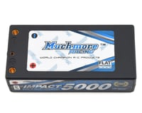 Muchmore Impact 2S FD2 Shorty LiPo Battery Pack w/4mm Bullets (7.4V/5000mAh)