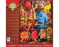 Masterpieces Puzzles & Games Fire And Rescue 1000Pcs