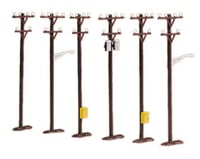 MTH Trains M.T.H. RailKing O-Scale Telephone Pole Set (6) | relatedproducts