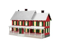 MTH Trains O Scale #4 Country House w/Operating Christmas Light (Red)