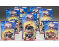Mattel  Hot Wheels Monster Jam Pull-Back Truck