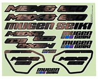 Mugen Seiki MBX6E ECO Decal Set (Chrome)