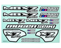 Mugen Seiki MBX7 ECO Decal Sheet | relatedproducts