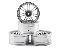 MST RE30 Wheel Set (Flat Silver) (4) (+10 Offset) | alsopurchased