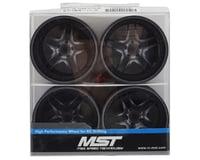 Image 4 for MST FB Wheel Set (Grey) (4) (+11 Offset)