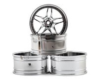 MST FB Wheel Set (Chrome) (4) (+11 Offset)