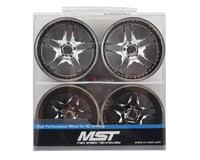 Image 4 for MST FB Wheel Set (Chrome) (4) (+11 Offset)
