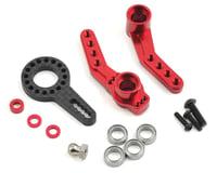 MST RMX 2.0 Aluminum Steering Arm Set (Red)