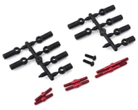 MST RMX 2.0 Aluminum Turnbuckle Shaft Set (Red)