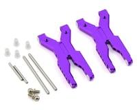 MST RMX 2.0 S Aluminum Rear Lower Arm Set (Purple)