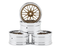 MST S-GD 21 Wheel Set (Gold) (4) (Offset Changeable) | relatedproducts