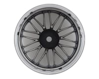 Image 2 for MST LM Wheel Set (Flat Silver) (4) (Offset Changeable)