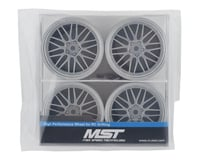 Image 4 for MST LM Wheel Set (Flat Silver) (4) (Offset Changeable)
