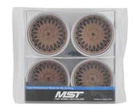 Image 4 for MST 501 Wheel Set (Gold) (4) (Offset Changeable)