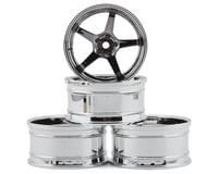 MST GT Wheel Set (Chrome/Black Chrome) (4) (Offset Changeable) | relatedproducts