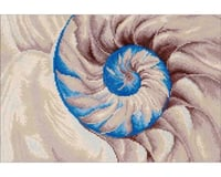 Needle Art World Diamond Dotz Nautilus Shell Quick, Easy Artwork, Multicolor