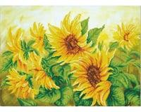 Needle Art World Hazy Daze Sunflowers 22.4 X 16.1