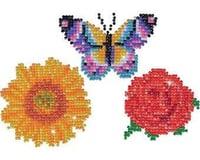Needle Art World Needleart World Assorted Diamond Dotz Stickers Facet Art Kit (3 per Pack)
