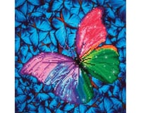 Needle Art World Diamond Dotz DD5.015 Flutter By Pink Diamond Facet Craft Kit