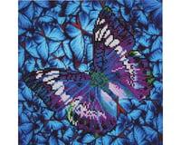 Needle Art World Needleart World DD5.017 Flutter by Mauve Diamond Embroidery Kit