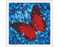Needle Art World Flutter By Red 12X12