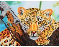 Needle Art World Diamond Dotz DD7.002 Leopard Look