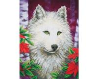 Needle Art World Diamond Dotz DD7.007 White Wolf Diamond Facet Craft Kit