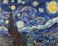 Needle Art World Needleart World DD9.001 Starry Night (Van Gogh) Diamond Embroidery Kit
