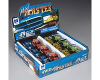 New Ray D/C Mini Monster Truck Friction Assorted