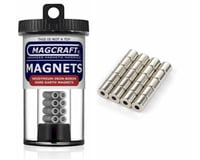 "National Imports  / Magcraft 1/4""x1/10""x1/4"" Rare Earth Cylinder Magnets (20) ( 