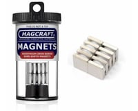 "National Imports  / Magcraft 1/2""x1/2""x1/8"" Rare Earth Block Magnets (10)"