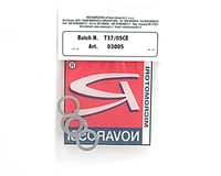 Novarossi 0.30mm Aluminum Long Stroke .21 Head Shim (5) (P5/421B/Plus 21-5)