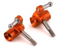 NEXX Racing Aluminum Knuckle Set For V-Line (Orange) (Kyosho MR-03)