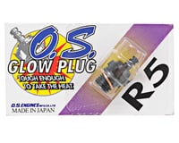 "O.S. R5 Short Body Standard Glow Plug ""Medium"""