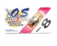 "O.S. No.8 Short Body Standard Glow Plug ""Medium"""