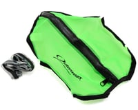 Outerwears Short Course Truck Shroud w/Zipper (Slash 4x4) (Lime Green)
